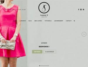 Page d'accueil du site d'Ivanne S