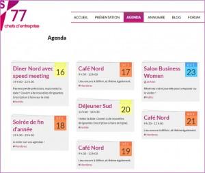 L'agenda DA 77