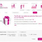 Achat en ligne de chèques cadeaux avec options
