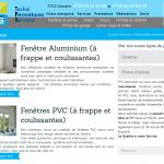 Page de rubrique de produits TFS